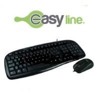 Kit Teclado y Mouse EASY LINE